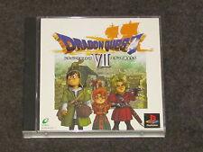 Dragon Quest VII 7 PS1 NTSCJ Complete Japanese Import Japan
