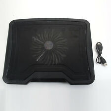 "New 2 USB One 1 Big Fan Cooling Cooler Pad for 14"" 15.4"" Laptop PC with LED"