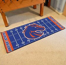 "Boise State Broncos 30"" X 72"" Football Field Runner Area Rug Floor Mat"