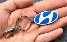 Hyundai porta chiavi ix35 i10 i20 i30 getz emblema in gomma legera & flessible