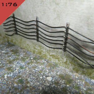 24x 3D printed WALL CABLE RETAINERS HANGERS 1:76, OO Scenery Model Miniature