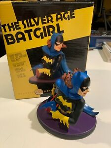 DC Direct Silver Age Batgirl Classic Mini Bust Tim Bruckner Statue