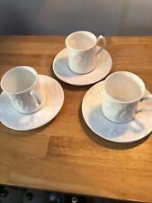 Coalport White Bone China Dragon Cup and Saucer By Brindley A.R.C.A. 3 Available
