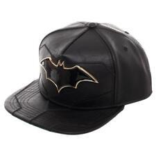 e25645db45614 Authentic DC Comics Batman Rebirth Suit up PU Leather Snapback Hat