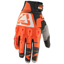 LEATT GPX 4.5 LITE Handschuh Motocross - orange schwarz weiss