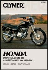 CLYMER SERVICE REPAIR MANUAL HONDA CM250C 1982-1983, NIGHTHAWK CB250 1991-2002