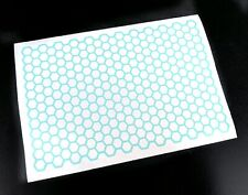 1/10 1/8 RC Honeycomb Pattern Paint Masking Sheet For Body Shell Grills, Stencil