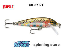 RAPALA  COUNTDOWN CD 07 SINKING col RT  RAINBOW TROUT SPINNING FIUME LAGO