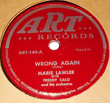 Art Records Art-140 Marie Lawler & Claire Polon Wrong Again / Some Want A Guy V+