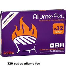 LOT 320 CUBE ALLUME FEU SPECIAL BARBECUE CHEMINEE