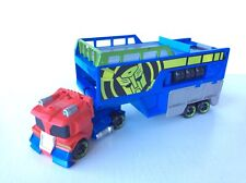 TRANSFORMERS RESCUE BOTS OPTIMUS PRIME RACING TRAILER, Rescan Playset 2016