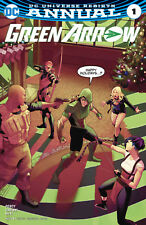 Green Arrow Annual #1 comic book (2017) DC Universe Rebirth NM 1st Print New