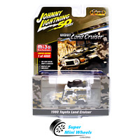 Johnny Lightning 1980 Toyota Land Cruiser Off Road Camouflag White 1:64 MiJo