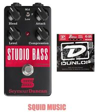 Seymour Duncan Studio Bass Compressor Sustainer - 1 Free Set of  Bass Strings