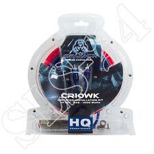 Crunch CR10WK Endstufen Kabelsatz 10mm² 60A 1000 Watt KFZ Kabelkit für Subwoofer