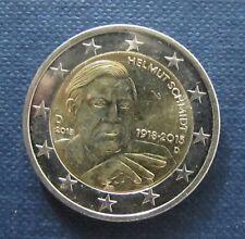 Münze Helmut Schmidt In Euro Währung Brd Kursmünzen Ebay