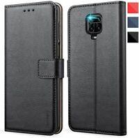 Coque Portefeuille Rabat Noir Flip Cover Xiaomi Redmi 8 9A Note 8T 9S 9 Pro