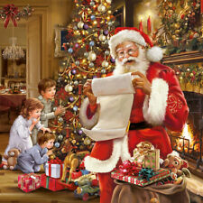 Ambiente 3 Ply Paper Napkins Serviettes Christmas Eve Xmas Santa Traditional