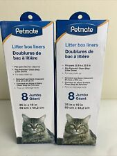 Lot Of 2 8Pk Litter Box Liner 16 Total New!