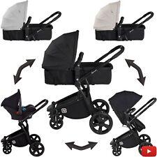 Kinderwagen Kombikinderwagen 3in1 Babyschale Sportwagen BabyGo Spring ab 179,90?