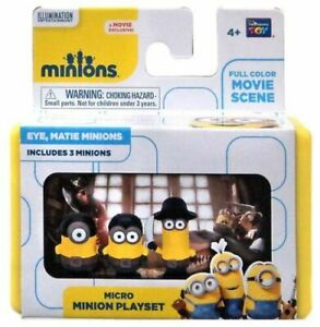Despicable Me Minions Movie Eye, Matie Minions 2-Inch Micro Playset