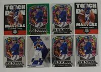 LOT (8) 2020 Mosaic Eli Manning Touchdown Masters Old School Green Prizm Base