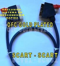 CABLE SCART-SCART 3m. VP-903 CONECTORES DORADOS