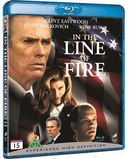 In The Line Of Fire Blu Ray (Region Free)