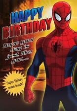 ULTIMATE SPIDERMAN HAPPY BIRTHDAY CARD AVENGERS MARVEL DISNEY NEW