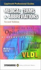 Lippincott Professional Guides: Medical Terms & Abbreviations (Lippincott's Heal