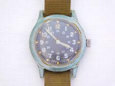 Rare Original 1966 Benrus MIL-W-46374 Army Manual Wind Plastic Wristwatch