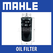Mahle Oil Filter OC60 (KHD & others)