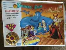 Vintage Aladdin Sounds Of Fun Board Game Sealed 1992 Hard To Find Rare Look