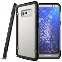 SHOCK-PROOF HYBRID CASE SLIM FIT DEFENDER ARMOR BUMPER COVER for GALALXY S8 PLUS