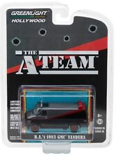 1:64 GreenLight *HOLLYWOOD R19* THE A-TEAM 1983 GMC Vandura VAN NIP!