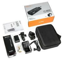 Godox AD200 200Ws 2.4G TTL Flash Strobe Monolight with 2900mAh Lithimu Battery