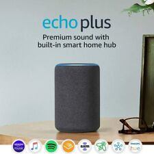 Echo PLUS 2nd Gen, Premium sound with built-in smart home hub BRAND NEW,3 colors
