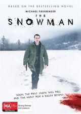 The Snowman DVD NEW Michael Fassbender Region 4