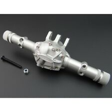 Hot Racing SCXT12H Silver Aluminum AR44 Axle Housing & Diff Cover Axial SCX10 II