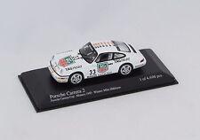 PORSCHE 911 CARRERA 2 MIKA-HAKKINEN 1993 ART N°433936033 1/43 MINICHAMPS BOX