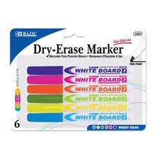 DDI 789813 BAZIC Fancy Color Fine Tip Dry-erase Marker 6 Pack Case of 72