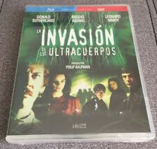 LA INVASION DE LOS ULTRACUERPOS - COMBO BLURAY + DVD - NEW SEALED NUEVO EMBALADO