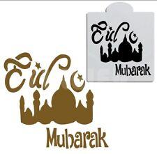 FREE PRIORITY POST Eid Mubarak Cake Stencil decorating Fondant Sugardust Baking