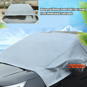 Car Automobile Universal Winter Snow And Frost-proof Front Windshield Sunshade