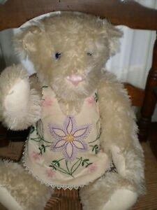 The Vermont Teddy Bear Company Limited Edition Mohair Teddy Bear 1992, 16 lnches