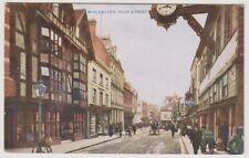 Hampshire postcard - Winchester, High Street