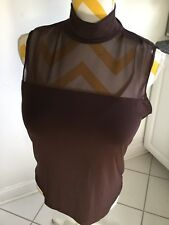 New 2 Womens Tops One Brown & One Brunt Orange Size Xl