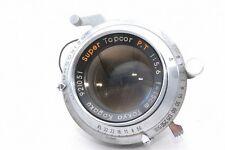 For parts Tokyo Kogaku Super Topcor P.T 15cm f/5.6 f 5.6 Lens *921051
