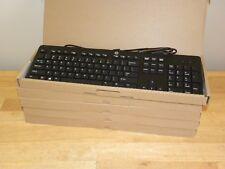 HP ~ NEW Lot of (5) ~ USB Wired Slim Keyboard KU-1469 803181-001