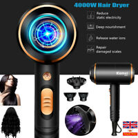 Professional Salon Negative Ionic 4000W Hair Dryer Blower Straightener Curler UK